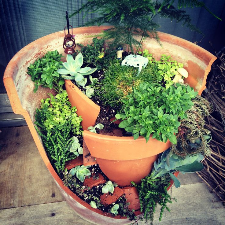 Fairy Garden Clay Pot: 48 Best Images About Crafts
