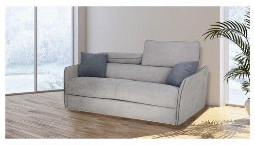 Une création contemporaine spécialement conçue pour notre plus grand confort. Le canapé convertible James tire son épingle du jeu grâce à son matelas de 13 cm et ses têtières réglable.