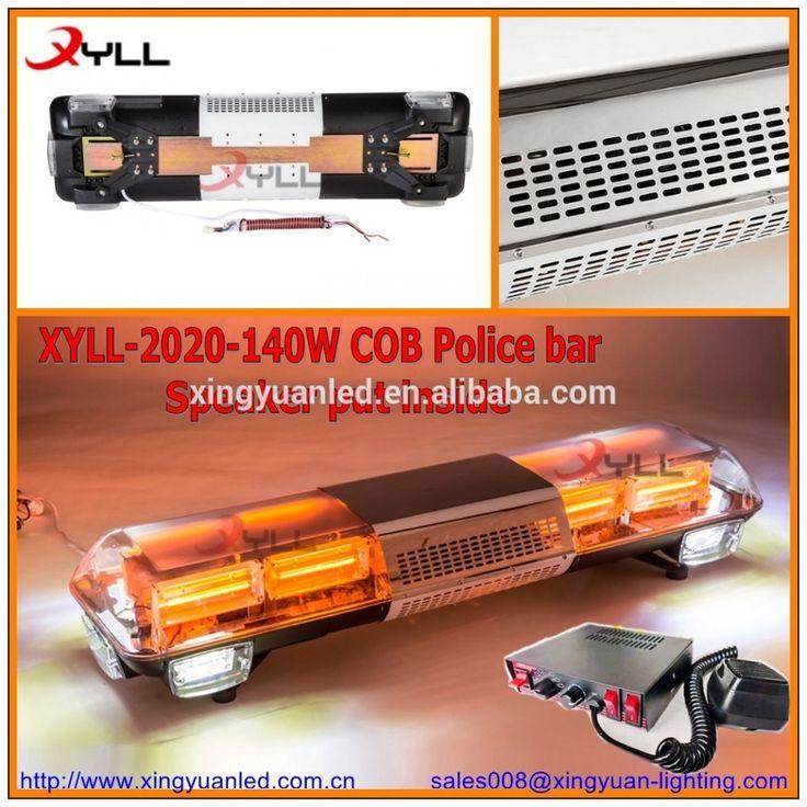 140W police light bar COB ,Halogen light bar ,LED warning light bar