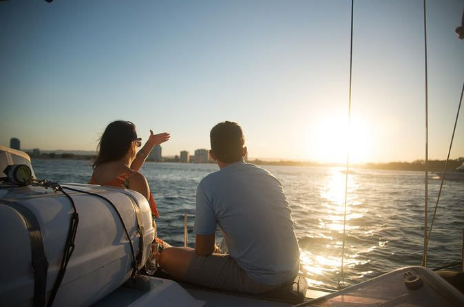 GOLD COAST: Sunset Cruise with Optional Seafood Dinner