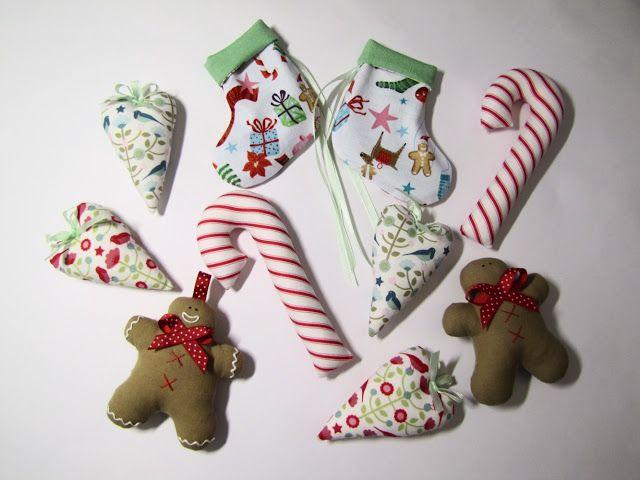 Master class: cucire le decorazioni natalizie! Bella Giocattoli :: Zatinatskoy Natalia