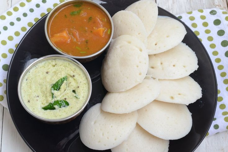 idli - indian fermented black lentils and rice