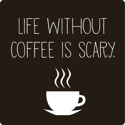 Life without coffee is scary isn't it? Best Coffee in Australia - http://www.kangabulletin.com/espresso-point-australia #espress #australia #lavazza #sale