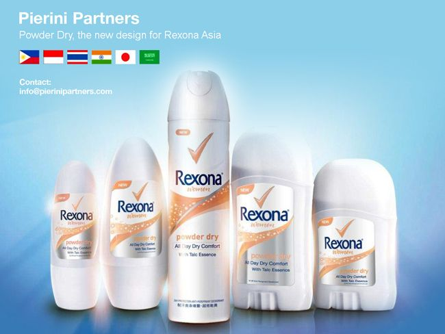 Rexona Powder Dry on Packaging of the World - Creative Package Design Gallery