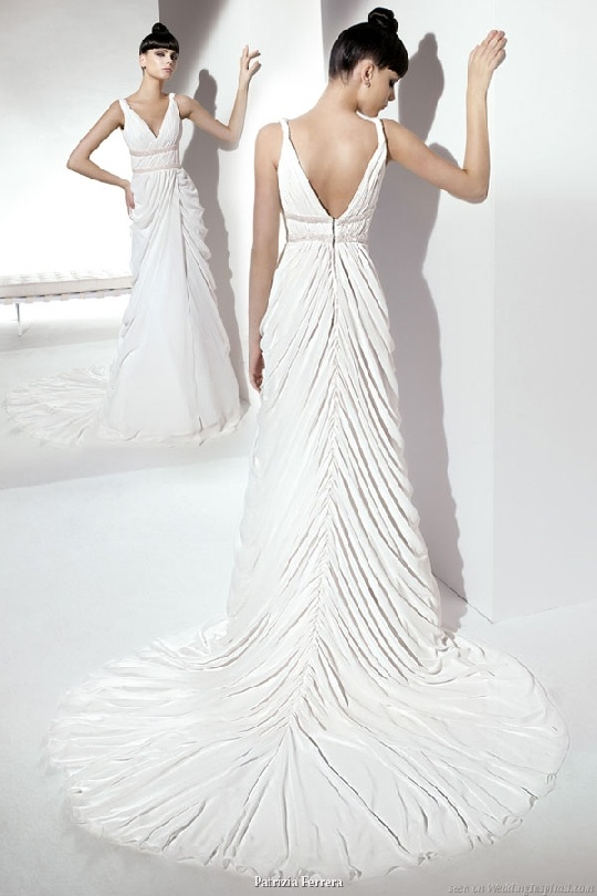 Goddess style wedding dresses for Greek goddess style wedding dresses