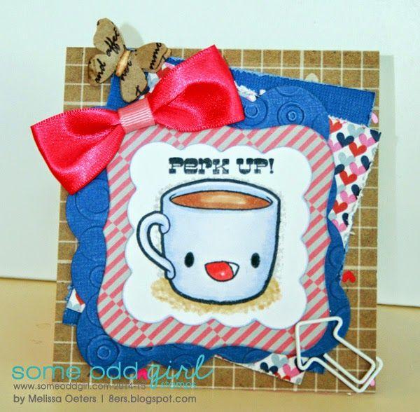 MelissaO - Needful Things Breakfast Friends stamp set
