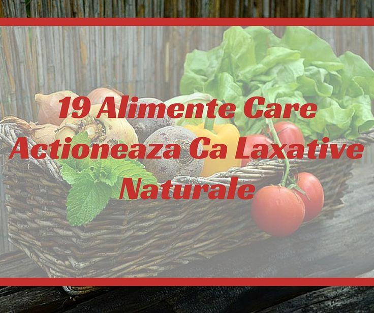 19 Alimente Care Actioneaza Ca Laxative Naturale | VIVASANSHOP