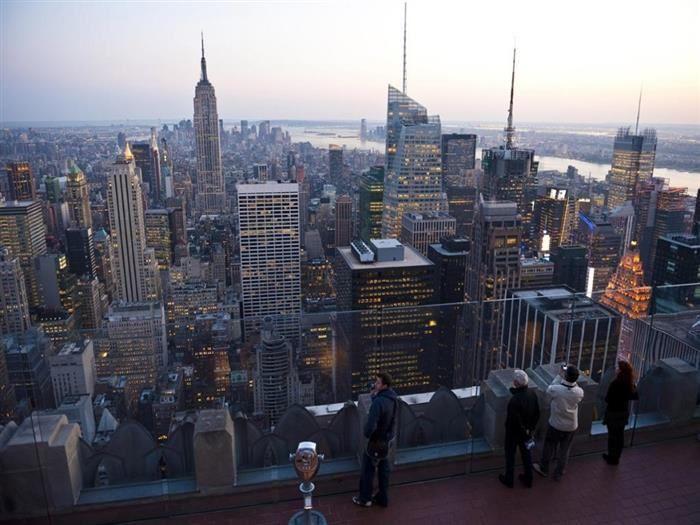 Lugares con vista. Centro Rockefeller, Nueva York