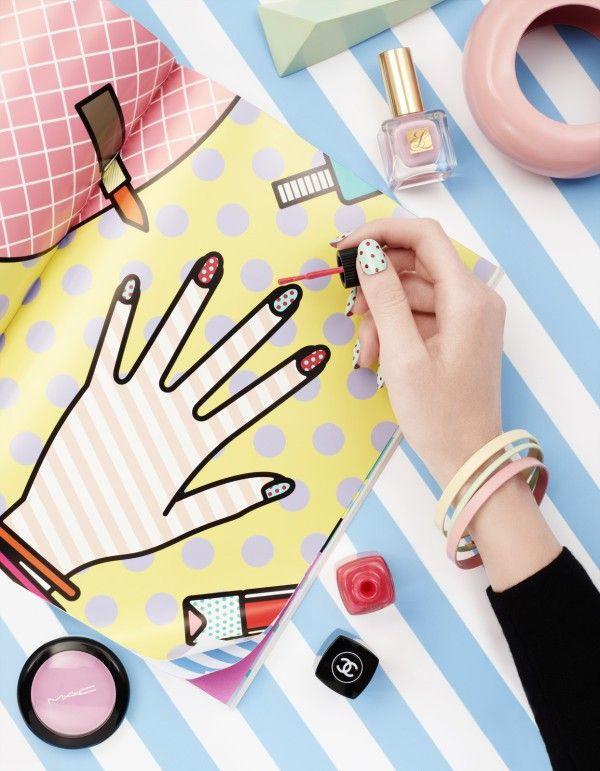 art direction | nails + nail polish still life