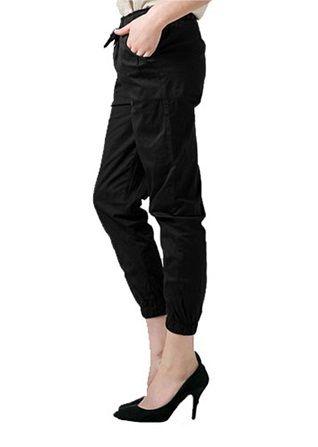 Celana Jogger wanita dengan bahan katun stretch ( celana panjang wanita )
