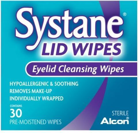#Systane Eyelid Cleansing Wipes Pack of 30