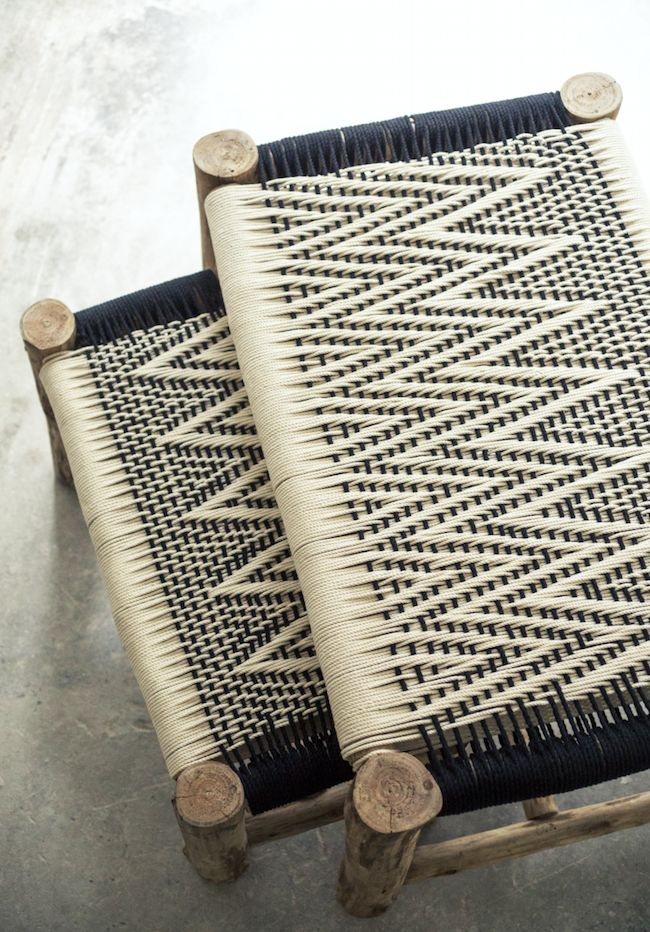 Weaving collection by Caravane