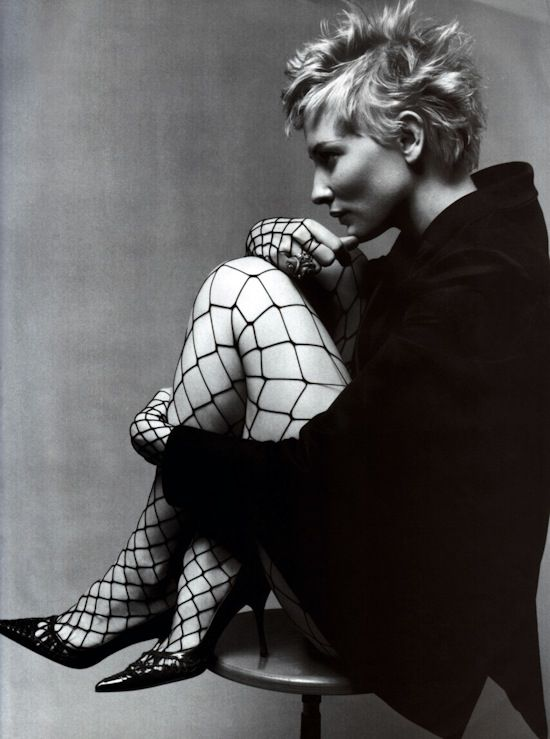 cateblanchett by tony notarberardino. for vogue australia, may 2001.