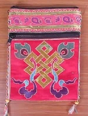 Dharmashop.com - Eternal Knot Passport Shoulder Bag, $10.00 (http://www.dharmashop.com/products/Eternal-Knot-Passport-Shoulder-Bag.html)