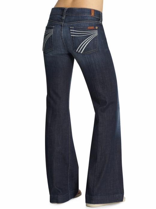 94a54bdf265f1 7 For All Mankind jeans- Best/most comfortable jeans (paired with ballet  flats or rainbows and you're good to go!!) | Dream Closet... in 2019 | Jeans,  ...