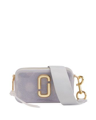 0cb778e113cab The Jelly Glitter Snapshot Crossbody Bag by Marc Jacobs at Bergdorf Goodman.