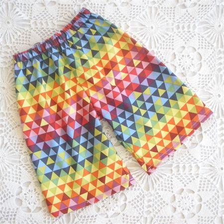Boys Kaleidoscope Print Playtime Shorts - Sizes 1-8 | Mozzie & Mac | madeit.com.au