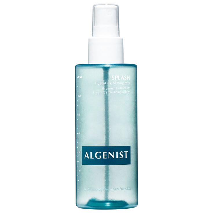 Shop Algenists' Splash Hydrating Setting Mist at Sephora. The weightless, hydrating serum in a setting mist creates visibly refreshed skin.