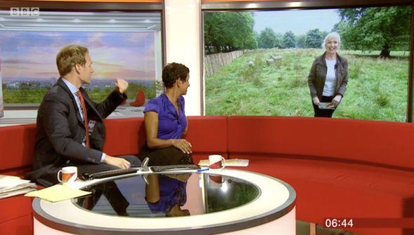 BBC weather: Carol Kirkwood SHUTS DOWN Dan Walker in awkward moment - 'Best one liner' - http://buzznews.co.uk/bbc-weather-carol-kirkwood-shuts-down-dan-walker-in-awkward-moment-best-one-liner -