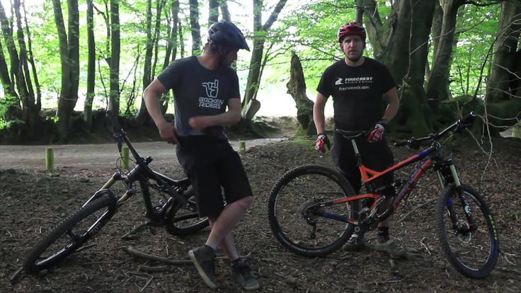 Mountain Bike Technique - Carving Corners Part 1