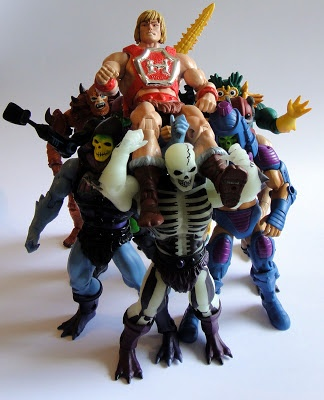 For he's a jolly good He-man! For he's a jolly good He-man! For he's a jolly good He-man! And so say all of us!