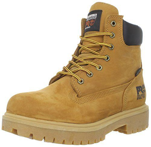 "Timberland PRO Men's 65016 Direct Attach 6"" Steel Toe Boot,Yellow,8.5 M - http://authenticboots.com/timberland-pro-mens-65016-direct-attach-6-steel-toe-bootyellow8-5-m/"