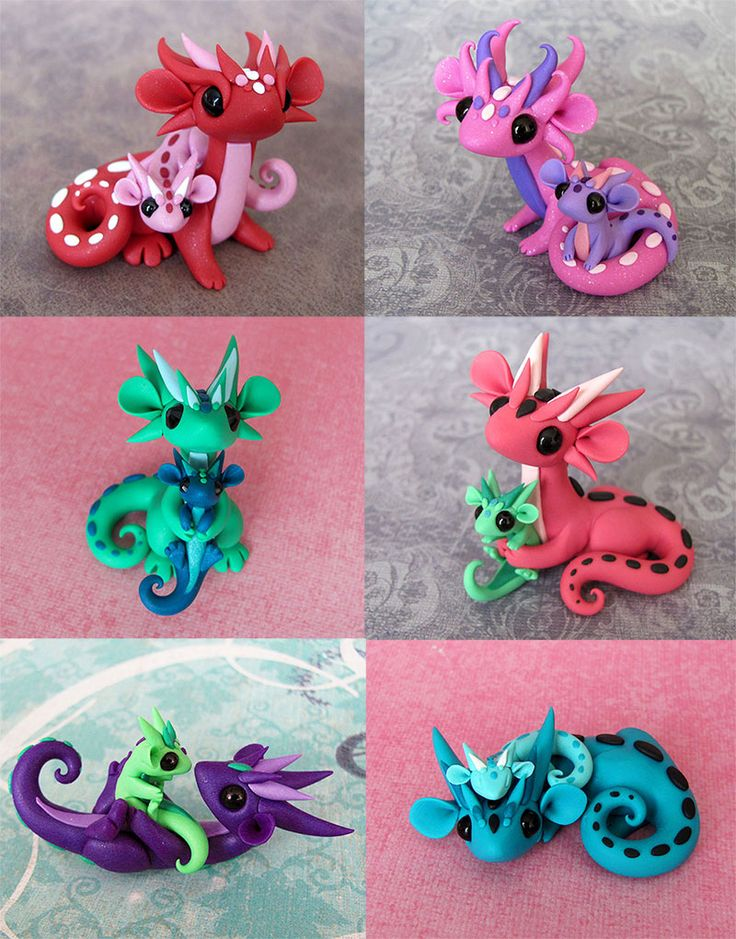 Mama Scrap Dragons by DragonsAndBeasties.deviantart.com on @deviantART