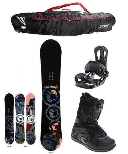 Amazon.com: Sapient Chris Coulter Complete Snowboard