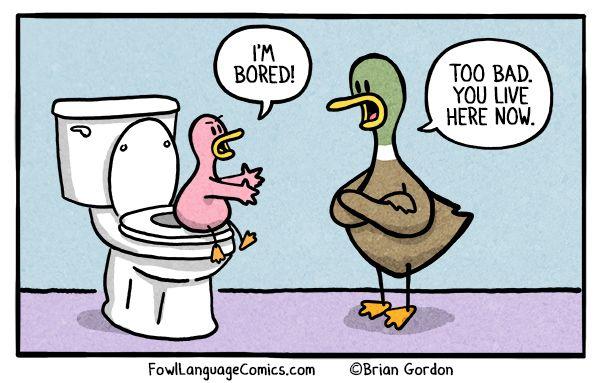 Potty Training - Bonus Panel - Fowl Language Comics