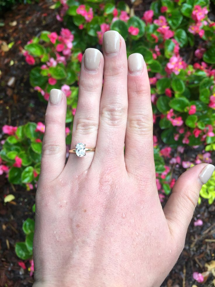 """Ryan shared the following about his CDE experience: """"Melissa was a tremendous help in buying the perfect engagement ring for my beautiful fiancée. I did not know anything about diamonds and she gave me all the material and knowledge that I needed to buy an amazing ring! She was very professional and listened to every detail so that when it came time to look at different rings she knew exactly what direction to point me. My experience with the Cumberland Diamond Exchange was absolutely…"""