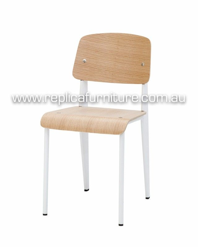 Replica Jean Prouve Standard Chair, Dining Chair