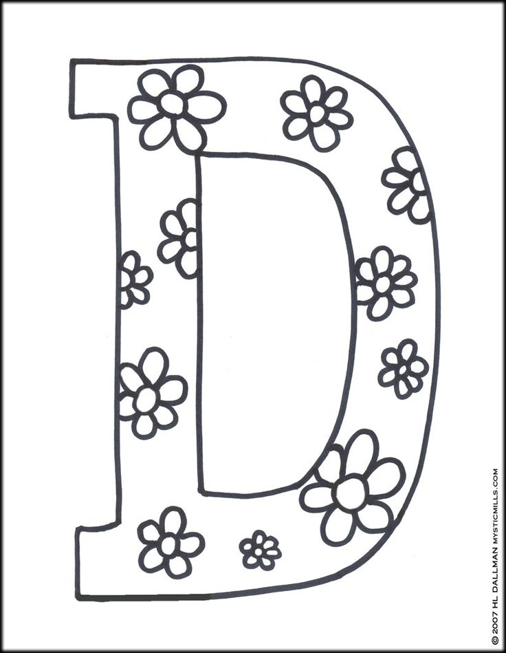 letter d printables letter d coloring pages coloring pages pictures imagixs