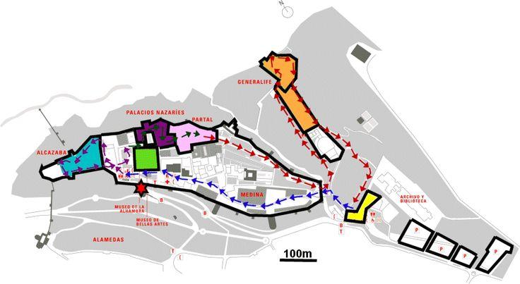 Alhambra map