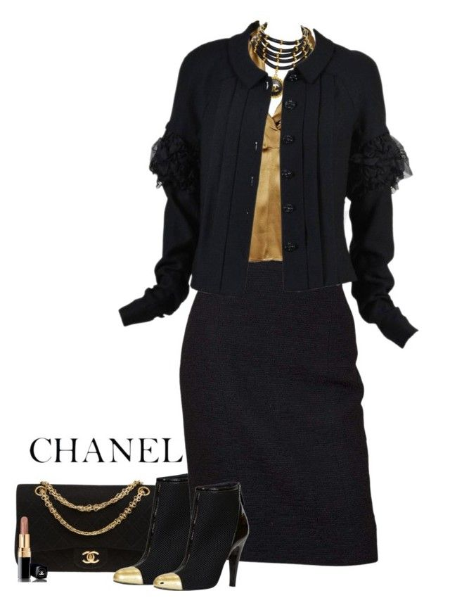 """""""Chanel"""" by ritadolce ❤ liked on Polyvore featuring Chanel"""