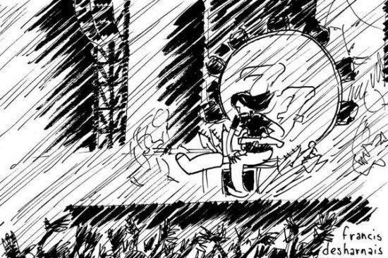 Em protesto, jornal canadense manda cartunista cobrir show dos Foo Fighters #Desenhos, #Fotos, #Grupo, #Segurança, #Show http://popzone.tv/em-protesto-jornal-canadense-manda-cartunista-cobrir-show-dos-foo-fighters/