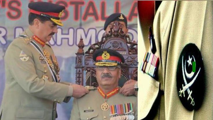 Pak Army New Chief of Army Staff