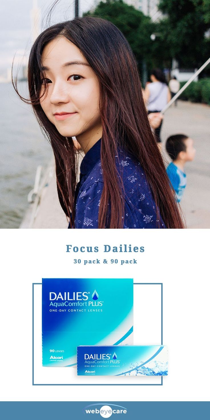 Stock up on contact lenses like Focus Dailies at a