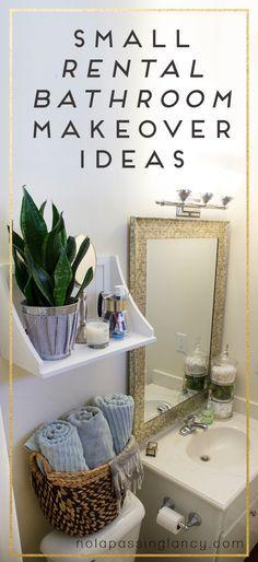 Best 25+ Rental bathroom ideas on Pinterest | Rental decorating ...