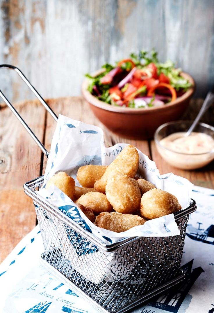 Battered Scampi. See more at http://www.magenta.org.uk/whitby-seafoods-food-photographer/