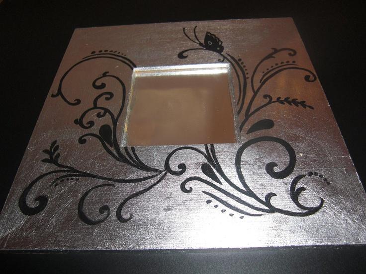 Espejos malma ikea   Hecho con pan de plata