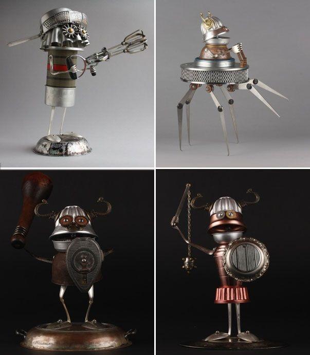 Predstavivosť, recyklácia a udržateľnosť: Roboty Briana Marshalla