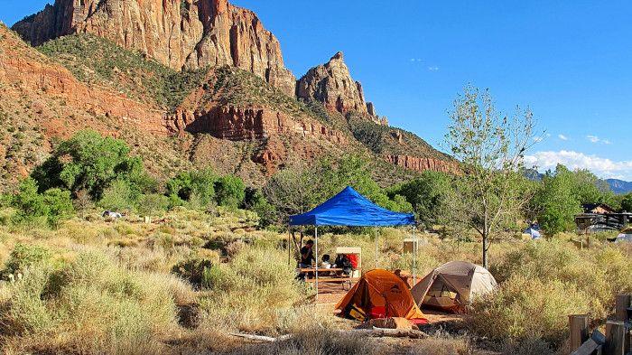 15. Watchman Campground, Zion National Park