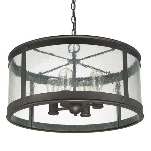 Features:  -Dylan collection.  -Number of lights: 4.  -Damp rated.  -Finish: Old bronze.  Style: -Traditional.  Fixture Finish: -Old Bronze. Dimensions:  Overall Product Weight: -16.67 lbs.  Fixture H