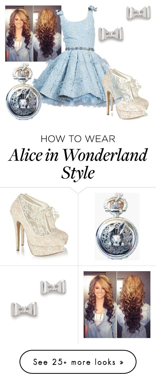 """""""Alice in Wonderland"""" by dancer-girl589 on Polyvore featuring Charlotte Olympia, Marc by Marc Jacobs, women's clothing, women's fashion, women, female, woman, misses and juniors"""