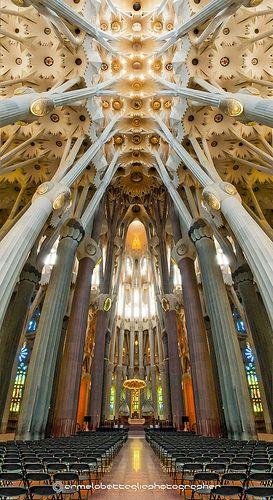 Sagrada Família, Antoni, Gaudi, Barcelona / UNESCO  Patrimonio de la Humanidad / año 2005