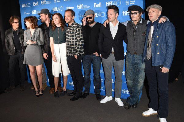 Johnny Depp Photos - 2015 Toronto International Film Festival(TIFF) - 'Black Mass' Press Conference on Sept 14, 2015 - Zimbio