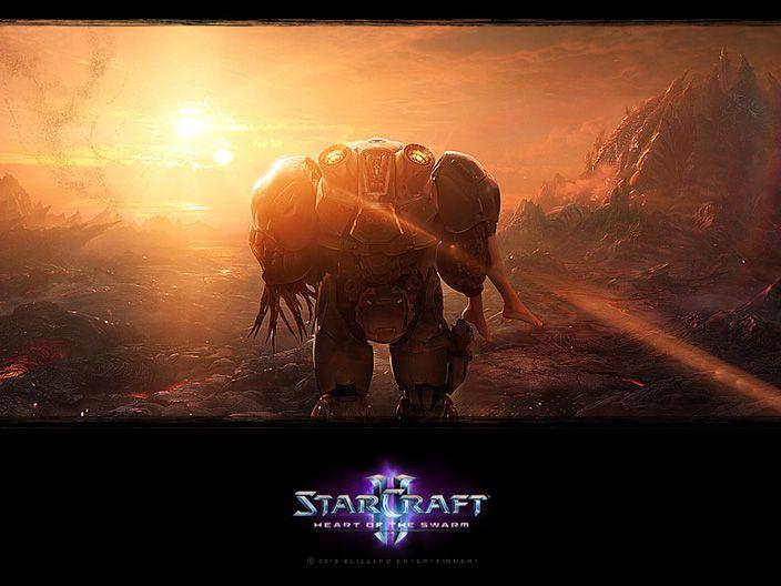 StarCraft II wallpaper 051 - Heart of the Swarm
