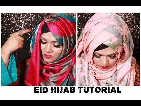 Side layered Hijab style   Everyday Hijab - YouTube