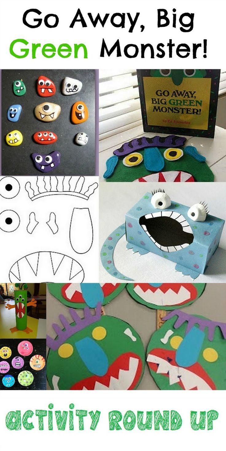 Go Away Big Green Monster Activities via @crazymomEmily and @crazymomleilani