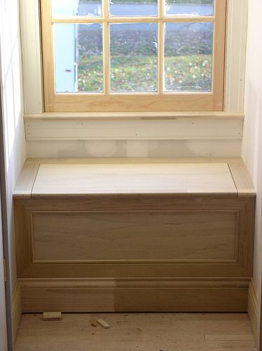 Dormer window seat after | by sisyphusjones